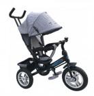 Велосипед 3х-колесный PILOT 12'/10', тормоз, накл.спин., серый PTA3GY