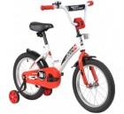 Велосипед 16' NOVATRACK STRIKE белый-красный 163STRIKE.WTR20