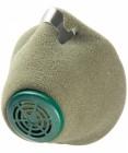 Респиратор фильтрующий СИБРТЕХ FFP1, У-2К, полумаска спанбонд 12384/89214/РЕС005