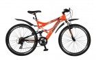 Велосипед STINGER 26' двухподвес, VERSUS оранжевый, 21ск. 26 SFV.VERSU.16 OR 5