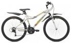 Велосипед MAVERICK 26' двухподвес, S 16 белый, 21 ск. (19-З)