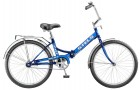 Велосипед 24' складной STELS PILOT-710 синий 16' Z010