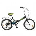 Велосипед NOVATRACK 20' складной FS30 тормоз V-brake, черный, 6 скор. 20 FFS 306SV.BK 8
