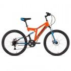 Велосипед STINGER 26' двухподвес, HIGHLANDER D диск, оранжевый, 16' 26 SFD.HILANDISC.16 OR 8