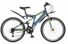 Велосипед 26' двухподвес STINGER HIGHLANDER 100 V синий, 18' 26 SFV.HILAND 1.18 BL 7 (20)