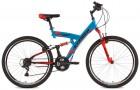 Велосипед 26' двухподвес STINGER BANZAI синий, 20' 26 SFV.BANZAI.20 BL7