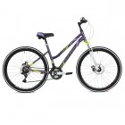 Велосипед STINGER 26' рама женская, алюм., LAGUNA D диск, фиолетовый, 19' 26AHD.LAGUNAD.19VT8