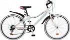 Велосипед 24' рама женская NOVATRACK ALICE тормоз V-brake,белый,6 ск.,12' 24SH 6SV.ALICE.12 WT9 (19)