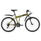 Велосипед 26' двухподвес FOXX ZING H 1, зеленый, 18к., 18' 26 SHV. ZINGH1.18 GN 8