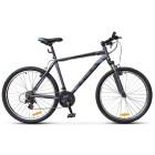 Велосипед 26' хардтейл STELS NAVIGATOR-500 MD диск, серый/синий, 21 ск., 16'