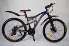 Велосипед 26' двухподвес Иж-Байк CRUISE 26 диск, черн./синий, 21ск.