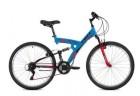 Велосипед 26' двухподвес FOXX Attack синий, 18' 26SFV.ATTAC.18BL0