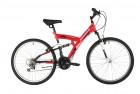 Велосипед 26' двухподвес MIKADO Explorer V-brake, красный,18' 26SFV.EXPLORER.18RD1