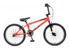 Велосипед TECH TEAM 20' рама алюминий BMX DUKE красный-черный 0210