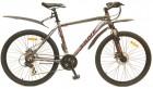 Велосипед 26' хардтейл, рама алюминий MAVERICK Tank X 26 диск, красный-белый, 21ск.