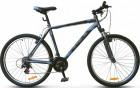 Велосипед 26' хардтейл STELS NAVIGATOR-500 V антрацитовый/синий, 21 ск., 20'
