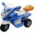 Скутер на аккумуляторе TOYS 80*41*45см, 6 V/4,5 Ah, синий HL-238BE