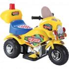 Мотоцикл на аккумуляторе TOYS 72*36*50см, 6 V/4,5 Ah, желтый PB301AY (19)