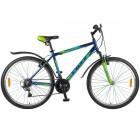 Велосипед 26' хардтейл, рама алюминий FOXX ATLANTIC V-brake,синий/зелен.,18ск. 26AHV.ATLAN.20BL8(19)