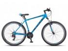 Велосипед 27,5' хардтейл STELS NAVIGATOR-700 V серый/синий, 21 ск., 19'