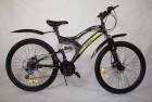Велосипед 26' двухподвес Иж-Байк Target 26 диск, зеленый, 18ск.