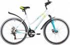 Велосипед 26' хардтейл, рама женская STINGER LATINA D диск, белый, 19' 26 SHD.LATINAD.19 WH 0