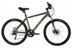 Велосипед 26' хардтейл STINGER CAIMAN D диск, зеленый, 18' 26SHD.CAIMAND.18GN1