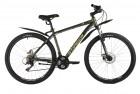 Велосипед 27,5' хардтейл STINGER CAIMAN D зеленый 18' 27SHD.CAIMAND.18GN1