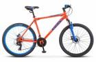 Велосипед 26' хардтейл STELS NAVIGATOR-500 MD диск, Красный/синий 2021, 16' LU088905