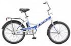 Велосипед 24' складной STELS PILOT-710 белый/синий 16'