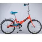 Велосипед 20' складной NOVATRACK FS 20 оранжевый 20 FFS 201. OR 8