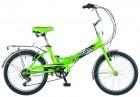 Велосипед 20' складной NOVATRACK FS 30 салатовый, тормоз V-brake, 6 ск. 20 FFS 306PV.GN 8