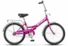 Велосипед 20' складной STELS PILOT-310 малиновый, 1 ск., 13' Z011