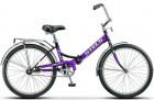 Велосипед 24' складной STELS PILOT-710 фиолетовый 16'