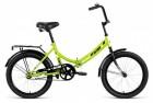 Велосипед 20' складной ALTAIR CITY зеленый, 14' RBKN9YF01003