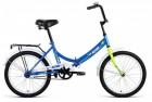Велосипед 20' складной ALTAIR CITY синий, 14' RBKN9YF01002