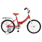 Велосипед 20' складной ALTAIR CITY KIDS 20 compact красный, 13' 2018-2019 RBKN95F01003