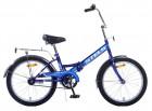 Велосипед 20' складной STELS PILOT-310 синий, 1 ск., 13' Z011