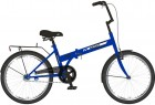 Велосипед 20' складной NOVATRACK TG 30 синий, тормоз V-brake, 20 NFTG 301 V.BL 20