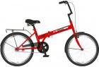 Велосипед 20' складной NOVATRACK TG 30 красный, тормоз V-brake, 20 NFTG 301 V.RD 20