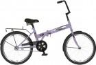 Велосипед 20' складной NOVATRACK TG 30 фиолетовый 20 NFTG 301.VL 20