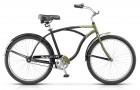 Велосипед 26' городской, рама алюминий STELS NAVIGATOR-130 Gent черный/зеленый, 1ск., 19'