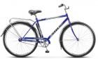 Велосипед 28' дорожный STELS NAVIGATOR-300 Gent синий, 1ск., 20' + корзина