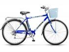 Велосипед 28' дорожный STELS NAVIGATOR-350 Gent синий, 7ск. + корзина