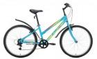 Велосипед 26' хардтейл, рама женская, ALTAIR MTB HT 1.0 L V-brake, голубой, 18 ск., 17' RBKT77N6P005