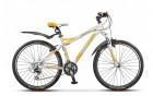 Велосипед 26' рама женская, алюминий STELS MISS-8500 белый/желтый/серебристый, 21 ск., 17' (19-З)