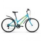Велосипед 26' хардтейл, рама женская, ALTAIR MTB HT 26 1.0 Lady голубой, 18ск., 15' RBKT77N6P003