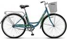 Велосипед 28' городской, рама женская STELS NAVIGATOR-345 LADY темно-оливковый, 1 ск., 20'