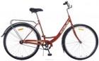 Велосипед 28' городской, рама женская STELS NAVIGATOR-345 LADY коричневый, 1 ск., 20'