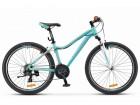 Велосипед 26' рама женская, алюминий STELS MISS-6000 V морская волна/оранжевый, 18 ск., 17'